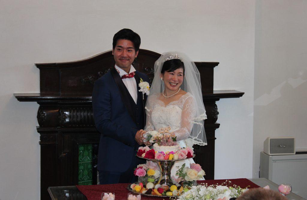 旧下関英国領事館で結婚式開催