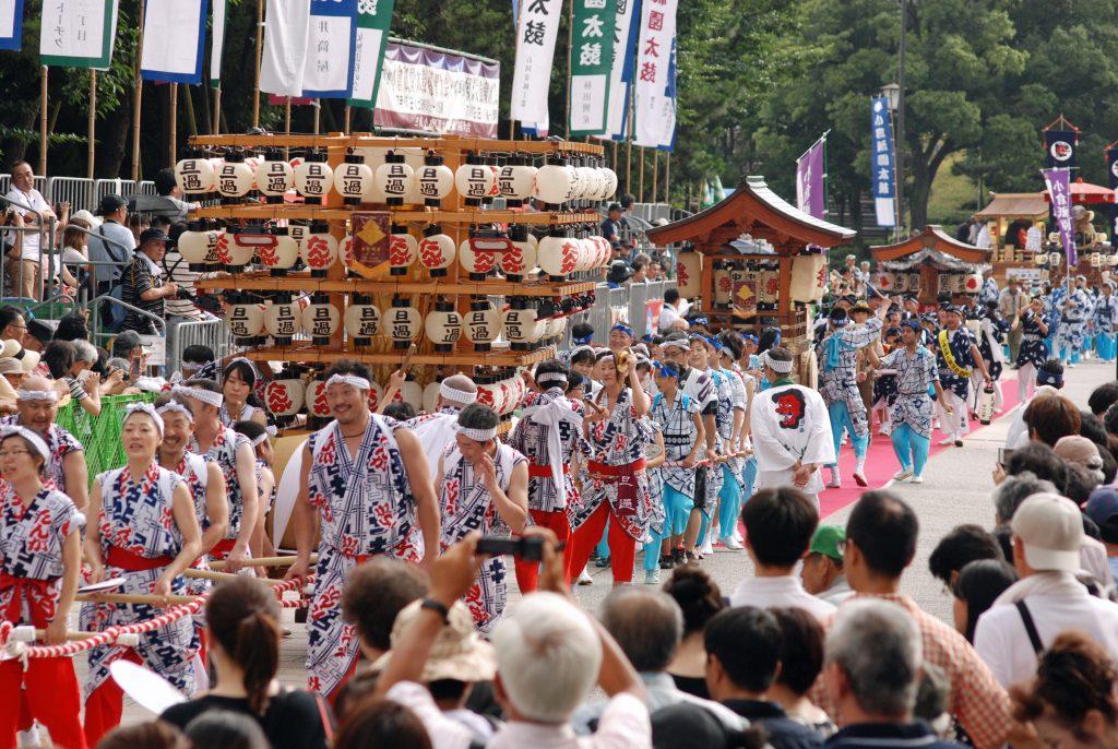 約400年続く勇壮な「小倉祇園太鼓」