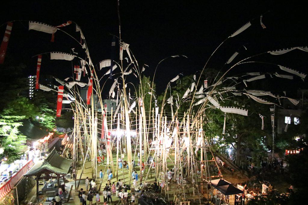 天下の奇祭!歴史ある「数方庭祭」