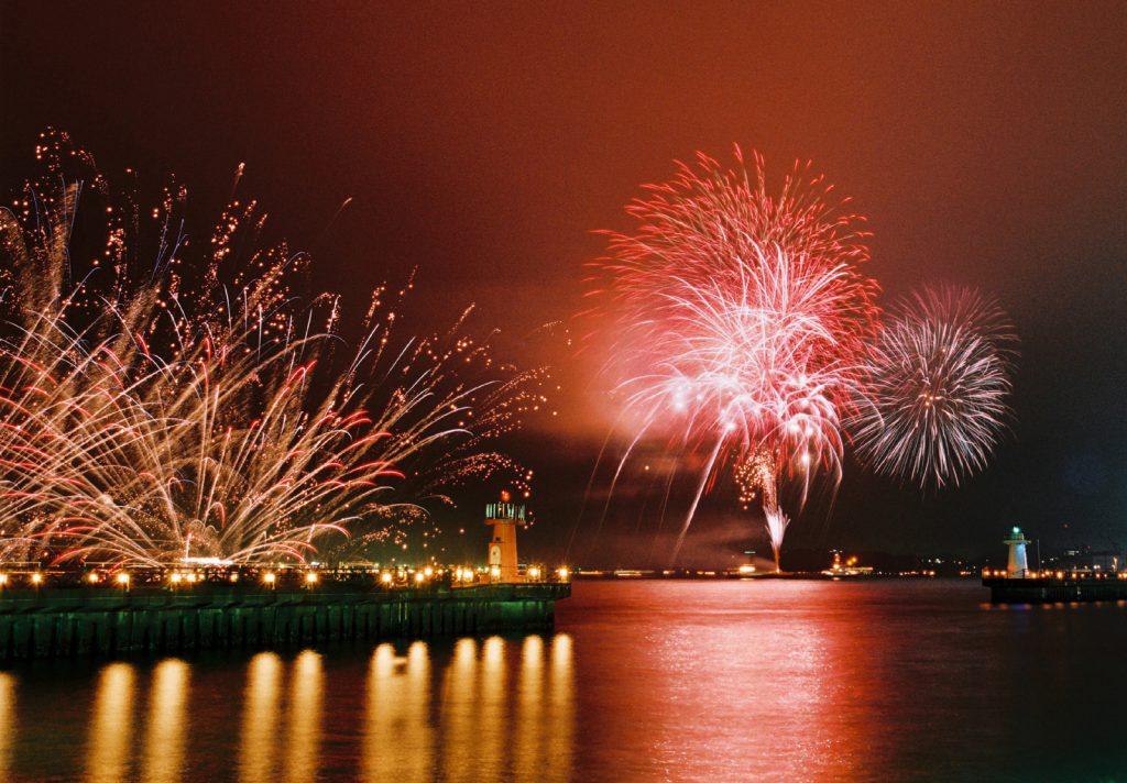 関門海峡花火大会を楽しむ穴場スポット! | Bridge of Love 関門