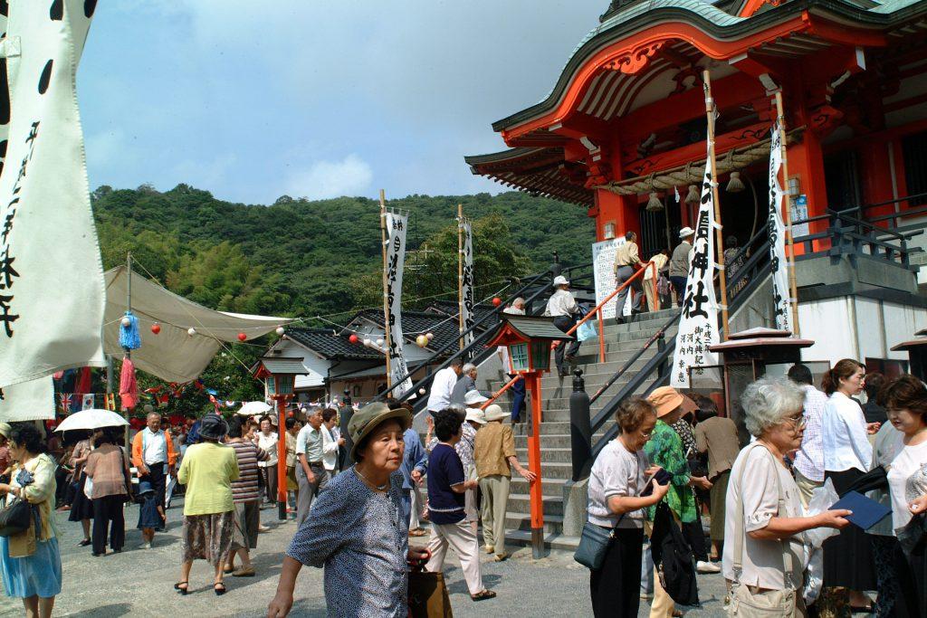 淡島神社で850余年続く「秋季大祭」