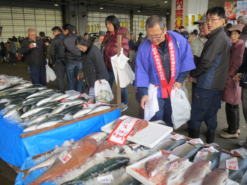 海の幸が満載!「Shimonoseki Fish Festiv…