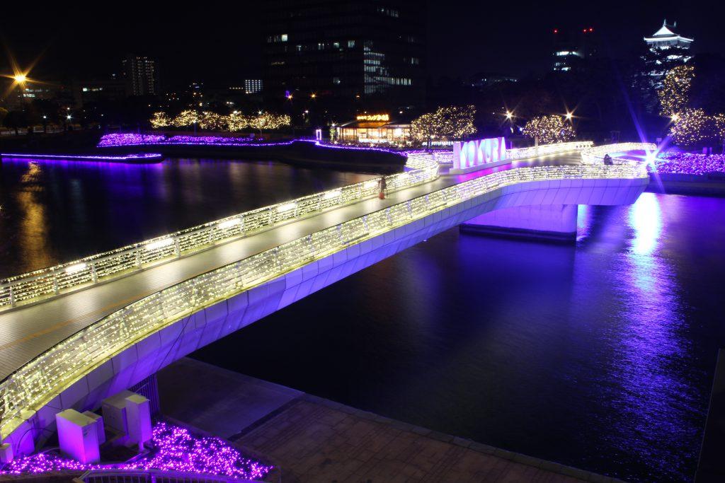 88万球の光が街を包む「小倉イルミネーシ…
