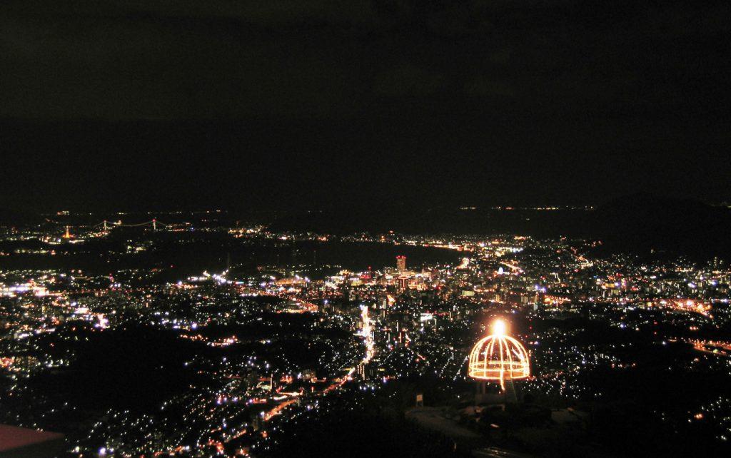 北九州随一の夜景スポットで過ごすクリス…
